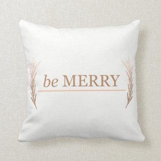 Almofada seja travesseiro alegre do feriado