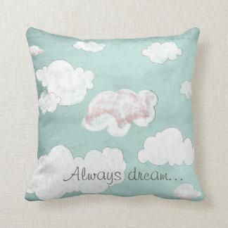 Almofada Sempre sonho…