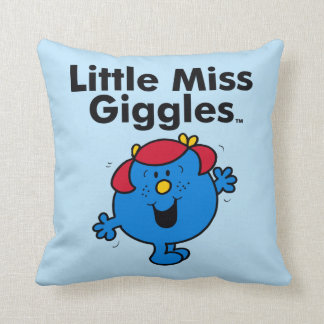 Almofada Senhorita pequena pequena Riso Gosto Riso da