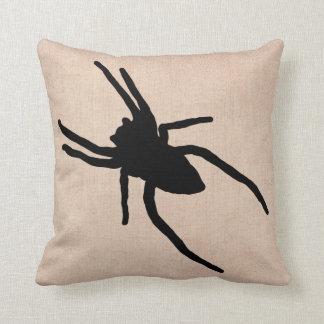 Almofada Serapilheira feliz da aranha do Dia das Bruxas do