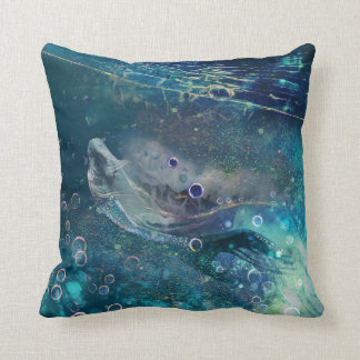 Almofada Sereia subaquática da mística do índigo