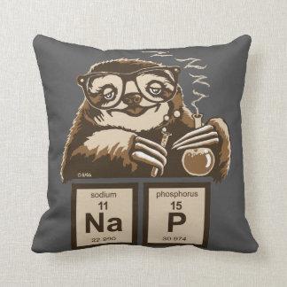 Almofada Sesta descoberta preguiça da química
