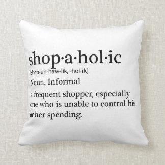 Almofada Shopaholic