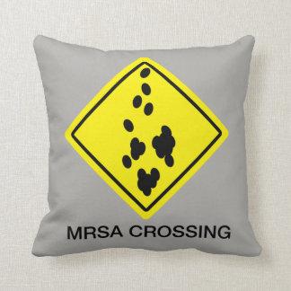 Almofada Sinal do cruzamento de MRSA