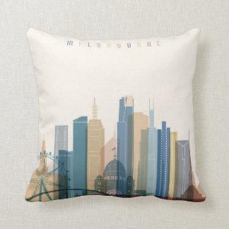 Almofada Skyline da cidade de Melbourne, Austrália |