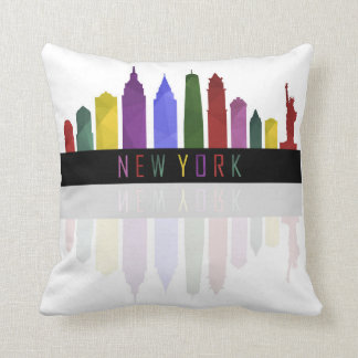 Almofada skyline de New York