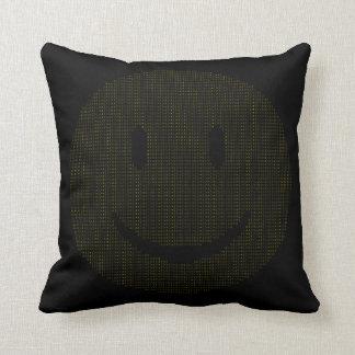 Almofada Smiley face feito dos smileys face