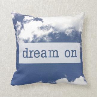 Almofada Sonho no travesseiro do acento