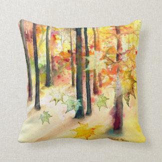 """Almofada """"Sonho travesseiro quadrado da arte das árvores"""""""
