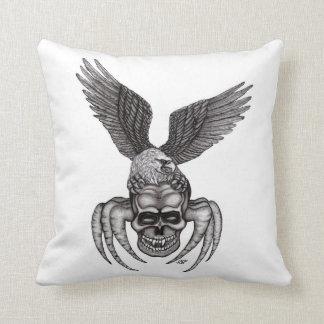 Almofada Spiderskull com Eagle