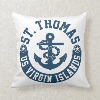 Almofada St Thomas E.U. Virgin Islands