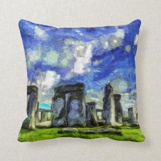 Almofada Stonehenge Vincent van Gogh