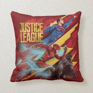 Almofada Superman da liga de justiça |, flash, & crachá de