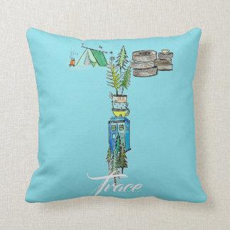 Almofada T personalizado é para o travesseiro do _____