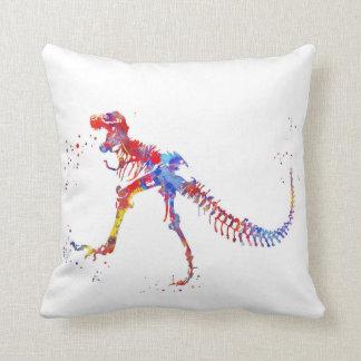 Almofada T Rex, dinossauro, arte animal, dinossauro
