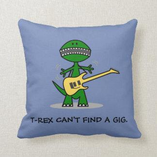 Almofada T-Rex não pode encontrar uma música da guitarra da