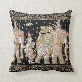 Almofada Tapeçaria do elefante indiano