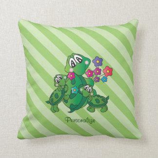 Almofada Tartaruga bonito de Momma dos desenhos animados e