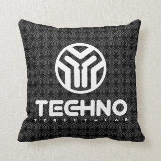 Almofada Techno Streetwear - logotipo - travesseiro