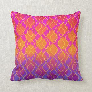 Almofada Tema indiano Glam marroquino árabe das cores
