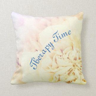 Almofada Tempo floral da terapia