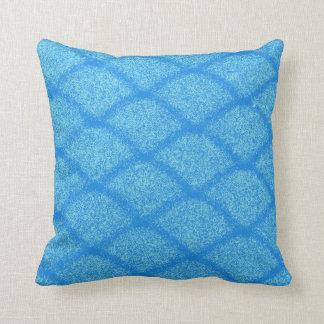 Almofada teste padrão azul