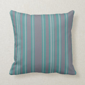 Blue Turquoise gray stripe pattern