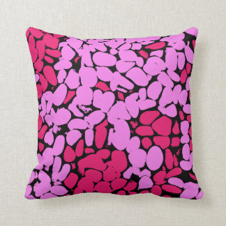 Almofada teste padrão cor-de-rosa