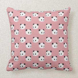 Almofada Teste padrão da panda
