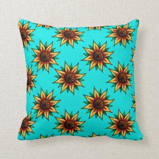 Almofada Teste padrão de flor/travesseiro
