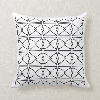 Almofada teste padrão linear do travesseiro