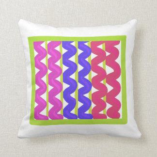 Almofada Teste padrão Multicoloured da viga