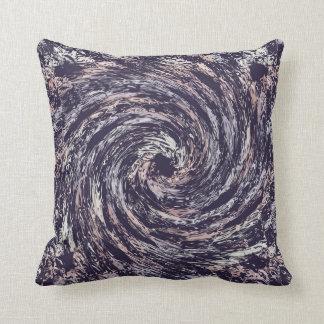Almofada Textura abstrata do redemoinho