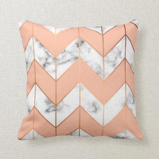 Almofada Textura de mármore, travesseiro sem emenda do
