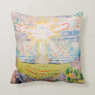 Almofada The Sun por Edvard Munch
