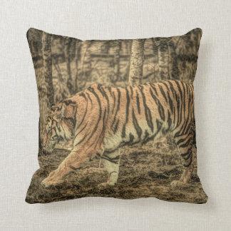 Almofada Tigre selvagem majestoso dos animais selvagens