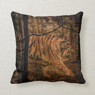 Almofada Tigre selvagem majestoso dos animais selvagens da