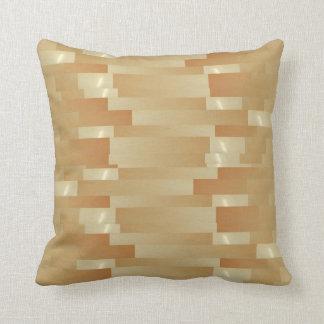 Almofada Tiras de seda do ouro do cetim - sombra Art101