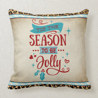 Almofada Tis o travesseiro do Natal da estação
