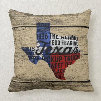Almofada Todo o travesseiro de Texas das coisas