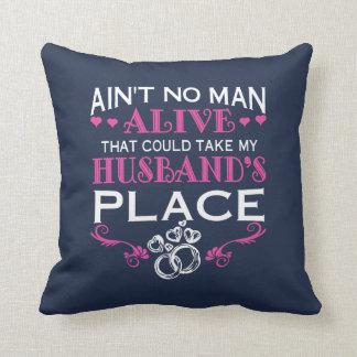 Almofada Tome o lugar do meu marido