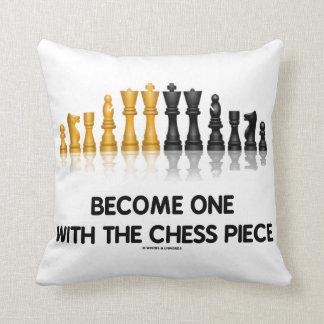 Almofada Torna-se um com o humor do conselho da xadrez da