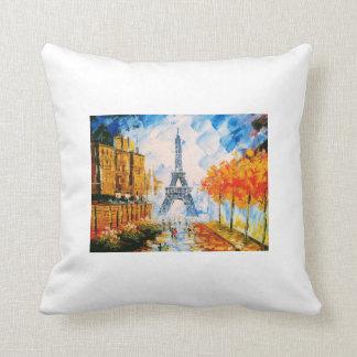 Almofada Torre Eiffel pintada