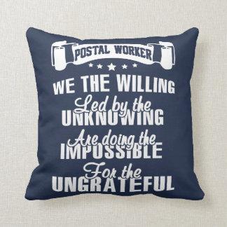 Almofada Trabalhador postal