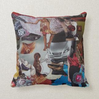 Almofada Trabalhos de arte no travesseiro decorativo