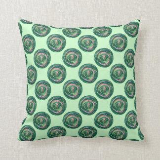 Almofada trabalhos de arte Verde-Cor-de-rosa #2 de