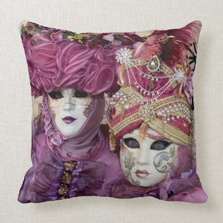 Almofada Traje roxo do carnaval, Veneza