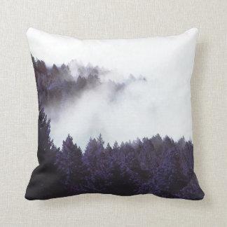 Almofada Travesseiro 16x16 da névoa do mistério