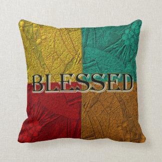 Almofada Travesseiro abençoado de Colorblock