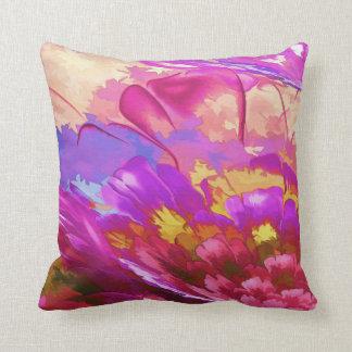 Almofada Travesseiro abstrato da aguarela, travesseiro